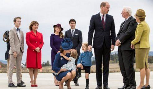 Putera William Bersama Keluarga Lawat Kanada