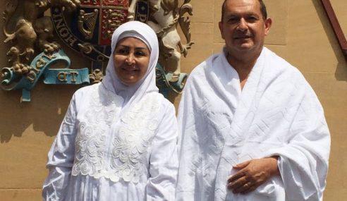 Duta Britain Ke Saudi Sah Peluk Islam, Tunai Haji