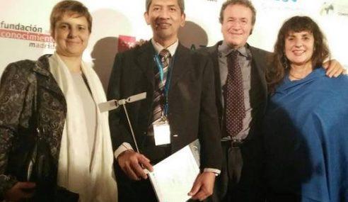 MOSTI Track Autism Menang Anugerah Di Sepanyol