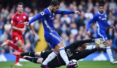 EPL: Chelsea Tumpaskan Leicester City 3-0