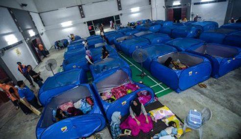 Air Pasang Besar: 167 Mangsa Masih Di Pusat Pemindahan