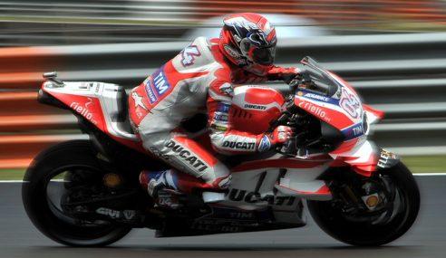 Dovizioso Rampas Petak Pertama MotoGP