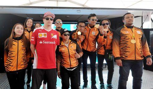 Wira & Wirawati Oplimpik, Paralimpik Saksi F1