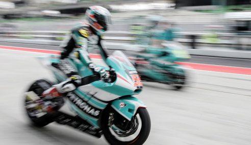 Hafizh Syahrin Muncul Juara Moto2 Eropah