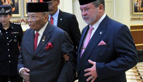 Sultan Johor Tolak Tawaran Jadi Yang Di-Pertuan Agong