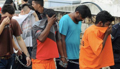 Lima Lelaki Didakwa Menculik Seorang Pengurup Wang