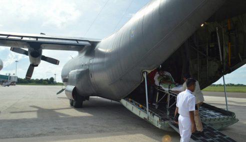 TUDM Buat Penerbangan Ihsan Bawa Anggota TLDM