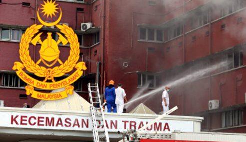 Bomba Nafi Kebakaran HSA Berpunca Telefon Dicas