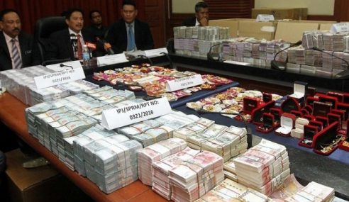 Barang Kemas Dirampas SPRM Di Sabah Bernilai RM3.64 Juta