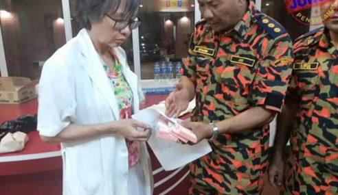 Bomba Serah Wang RM2,760 Dijumpai Kebakaran HSA