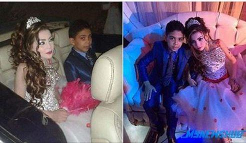 Pasangan Cilik Baru Berusia 11 & 12 Tahun Ditunangkan