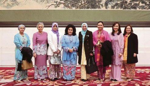 Rosmah Lawat Pusat Konservatori Muzik Di China