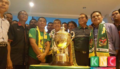 KFA Bawa Piala Malaysia Jelajah Kedah