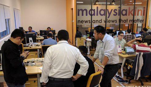 Malaysiakini Diserbu SKMM, Dua Komputer Dirampas