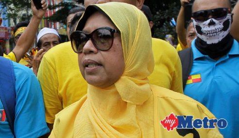 Zuraida Ditahan Berhubung Himpunan Haram Semalam
