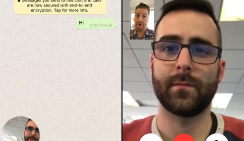 WhatsApp Kini Menyertakan Sokongan Panggilan Video