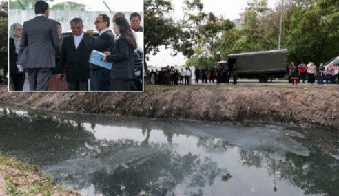 Hakim Tinjau Paya Lokasi Tong Dram Mayat Kevin Dibuang