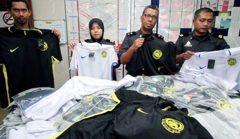 Jersi Tiruan Baharu Harimau Malaysia Antara Dirampas