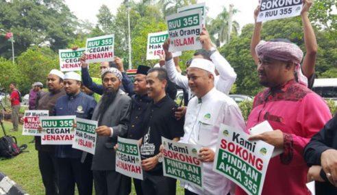 NGO Islam Berhimpun Aman Sokong Usul RUU 355