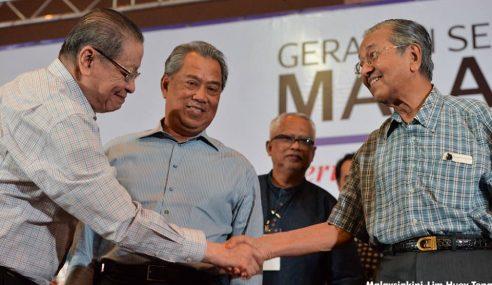 Mahathir Pun Bersama DAP, Apa Lu Mau Lagi?