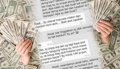 Betina Mata Duitan! – Ramai Bengang WhatsApp Ini