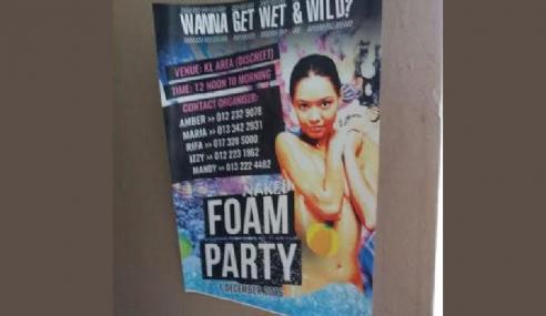 Rafizi Bengang Penganjur Parti Seks Guna Nombor Telefon