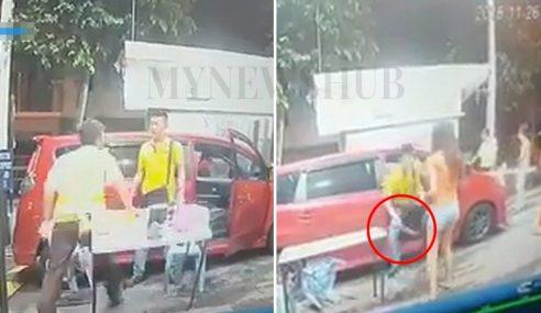Video: Lelaki Berbaju Kuning Belasah Pak Guard