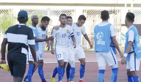 Piala AFF: 2 Gol Amri Bantu Malaysia Tewaskan Kemboja