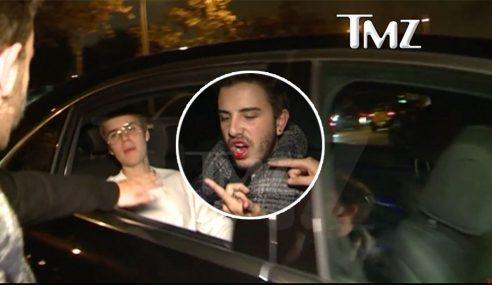 Justin Bieber Tumbuk Muka Peminat Sampai Berdarah