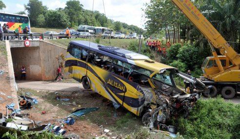 Siasatan Terperinci Kenal Pasti Punca Kemalangan Bas