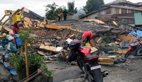 Semenanjung Berisiko Rendah Terjejas Gempa Aceh