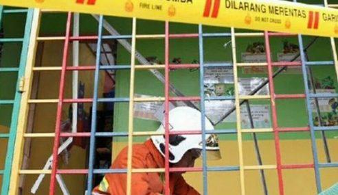 Pembantu Tabika Melecur Di Kepala Akibat Dapur Gas Meletup