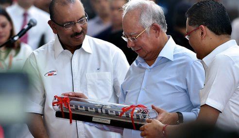 MRT Bukti Komitmen Kerajaan Di Bawah Pimpinan Najib