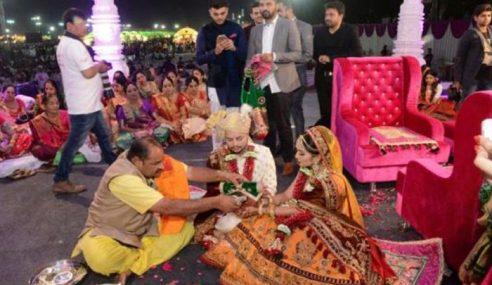 Taikun Berlian India Taja 236 Pengantin Kahwin 'Free'