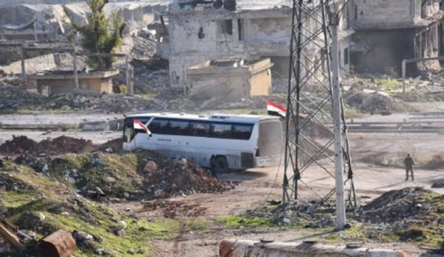 350 Penduduk Dibenar Tinggalkan Aleppo