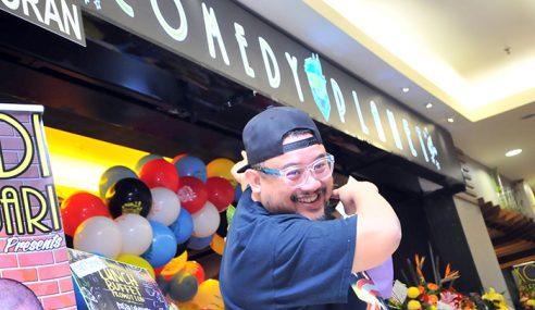 Restoran Afdlin Jadi Pusat Sehenti Aktiviti Komedi