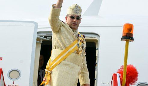 Sultan Muhammad V Berangkat Ke Kuala Lumpur