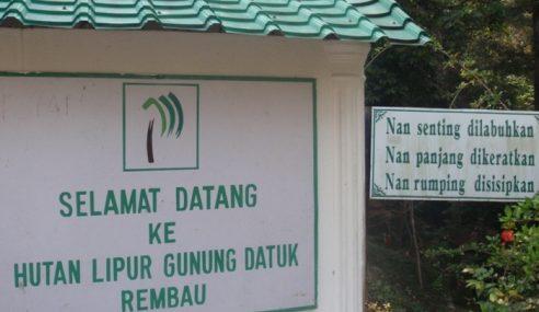 5 Pendaki Selamat Selepas Dilaporkan Sesat Di Gunung Datuk