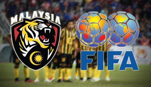Malaysia Jatuh 5 Anak Tangga Ranking FIFA