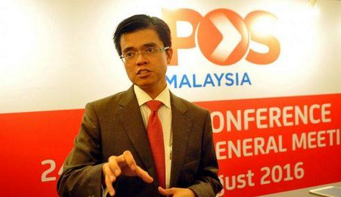 Pos Malaysia Akan Pertingkat Kapasiti IPC