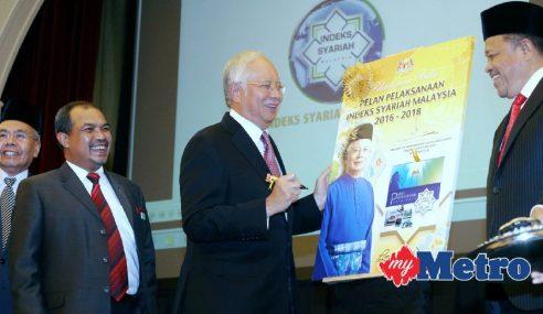 PM Lancar Buku Pelan Pelaksanaan Indeks Syariah