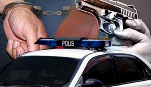 Seorang Lagi Suspek Kejadian Samun Ditembak