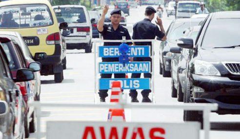 Konstabel Polis Patah Tangan Dirempuh Motosikal
