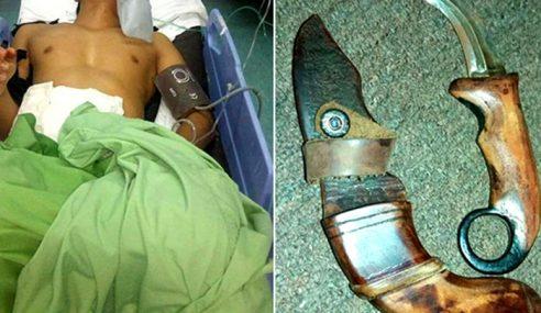 Isyarat Lucah Punya Pasal, Anggota Polis Cedera Ditikam