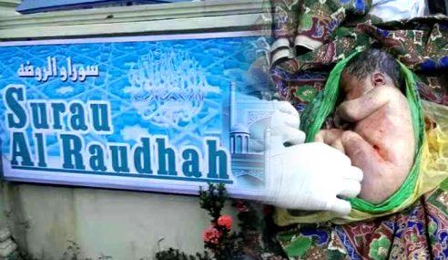 Mayat Bayi Dibungkus Dalam Plastik Di Tangga Surau