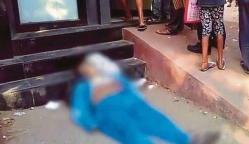 Orang Ramai Biarkan Lelaki Ini Mati Ketika Berbaris Di ATM