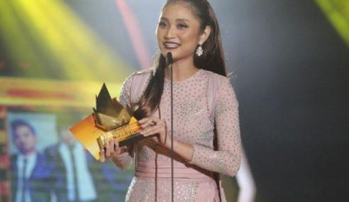 Ayda Jebat Ungguli 3 Trofi Anugerah Melodi