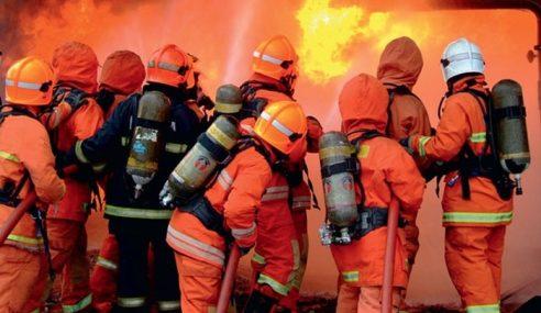 Pesakit Mental Yang Juga OKU Rentung Rumah Dijilat Api