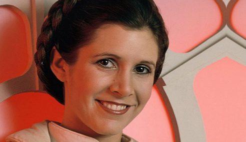 'Puteri Leia Star Wars', Carrie Fisher Meninggal Dunia