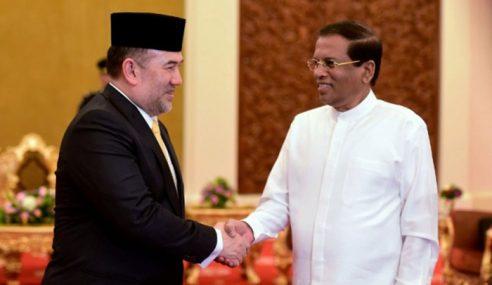 Agong Terima Kunjungan Hormat Presiden Sri Lanka
